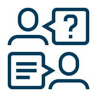 Academic advising icon