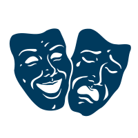 theatre arts program icon