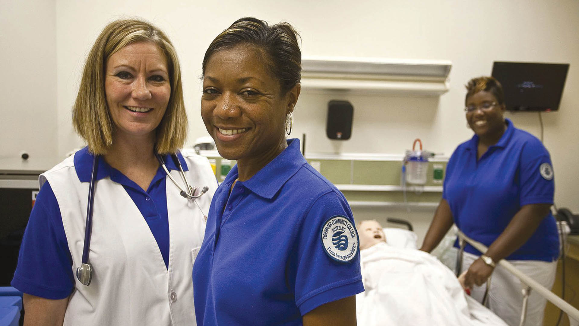 TCC nursing students and faculty get receive clinical experience with patient care simulators