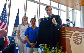 Sen. Warner opens TCC's Regional Health Professions Center