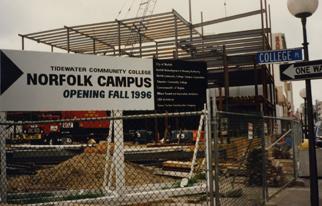 Construction underway on TCC's Norfolk Campus