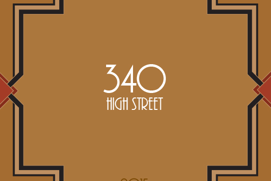 Cover for the 2015 Issue of 340 High Street